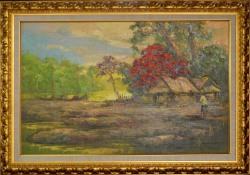 Lukisan Pemandangan, pigura lukisan - 0857.3133.6051 - http://jualpigurasurabaya.wordpress.com/