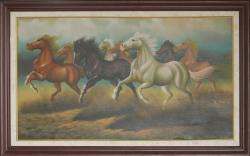 Lukisan Kuda  Uk. 160 x 95 cm