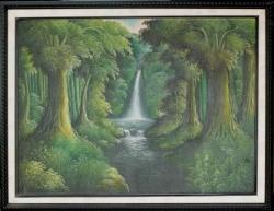 Lukisan Pemandangan         Uk. 88 x 68 cm